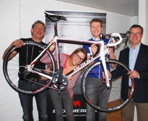 winnaar EM-fiets