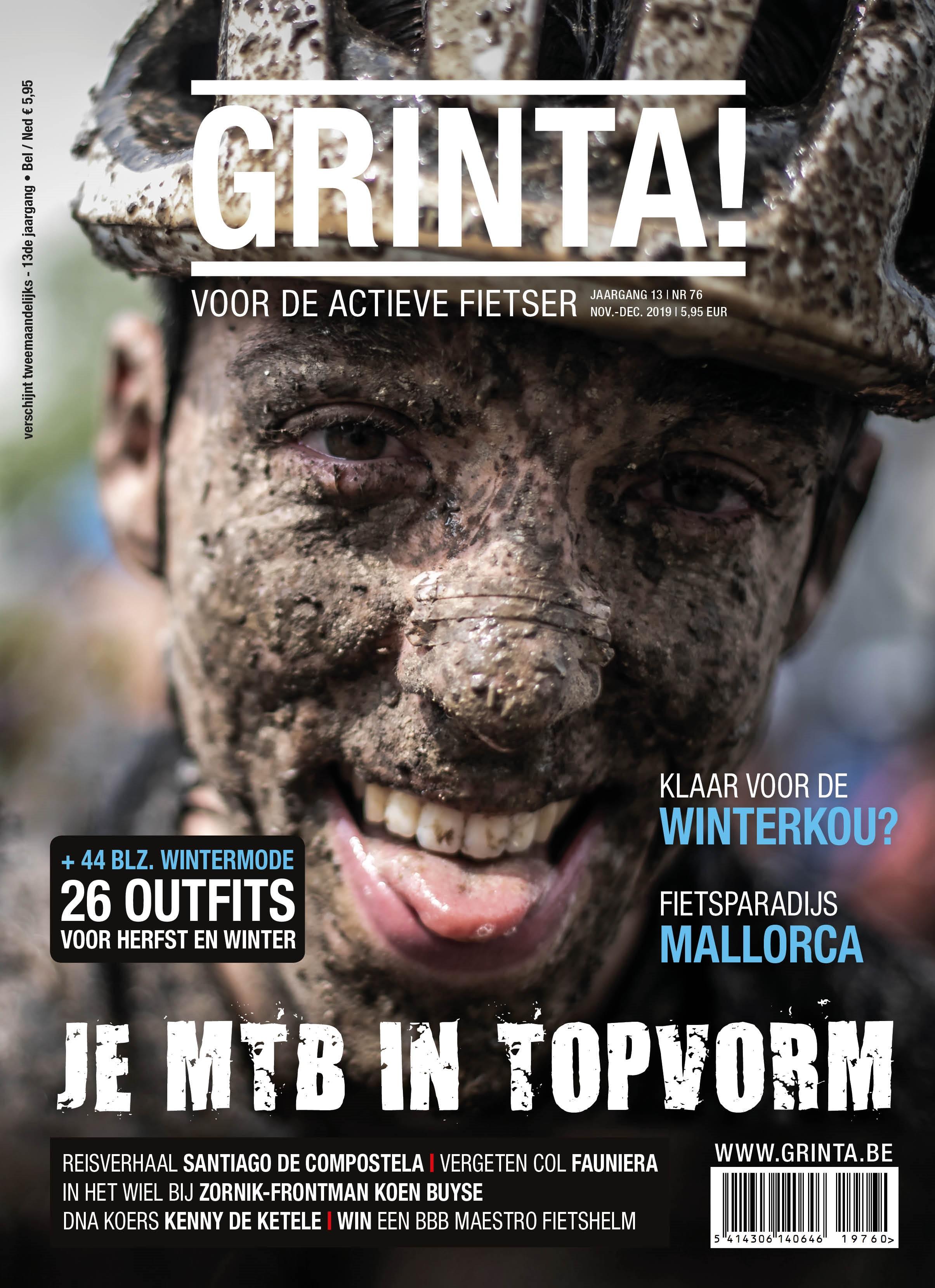Cover Grinta nov - dec 2019