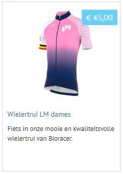 LM-wielertrui dames