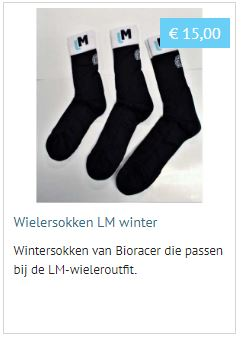 Wielersokken LM winter